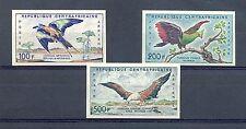 AFRICA REP CENTRAFRICAIN 1960   MI# 12/14   IMPERF...  **  MNH   BIRD