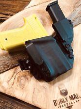 Fits PF940Cv1 Glock 19 with Olight PL mini  Valkyrie IWB Black OD Kydex Holster