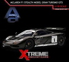 AUTOART 81040 1:18 MCLAREN F1 STEALTH MODEL GRAN TURISMO GT5 SUPERCAR