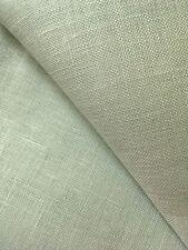 Green / Grey 28 count Cashel Linen 50 x 138 cm Zweigart fabric