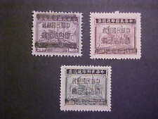 CHINA  Sct # 960-2 1949 PLAIN,TRAIN & SHIP W OVPTS! MNH