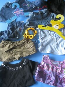 Build a Bear Workshop CLOTHES OUTFITS ACCESSORIES Teddy Bear Clothes Lot B