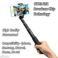 BlitzWolf® Ultimate 4 Button Bluetooth Extendable Aluminium Selfie Stick Black