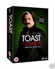 Toast Of London - Series 1-3 [BBC] (DVD)~~~~Matt Berry~~~~NEW & SEALED