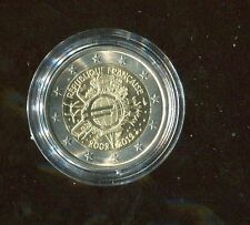 2 euro commemorativi 10° ann. euro 2012 - Francia