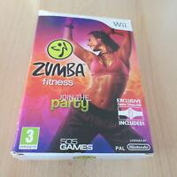 Zumba Fitness Únete la Fiesta - Nintendo Wii Juego con Fitness Cinturón en Caja
