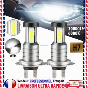 H7 110W 30000LM LED Feux Phare Lampe Ampoules Kit Xénon Blanc 6000K anti erreur