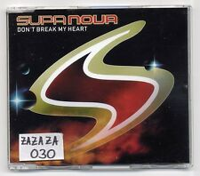 Supa Nova Maxi-CD Don 't Break My Heart - 5-Track CD incl. Schiller Remix