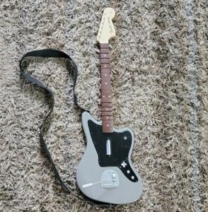 Rock Band 4 Wireless Fender Jaguar Guitar Gray PlayStation 4 PS4 Model 051-064