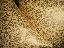 Fortuny Throw pillows Granada in yellow & Metallic silvery gold Custom new PAIR