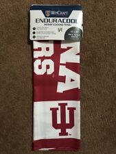 "Wincraft Enduracool Instant Cooling Towel NCAA Indiana Hoosiers 12"" x 30"""