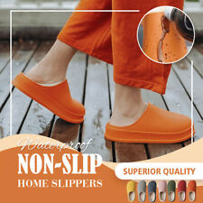 Winter Waterproof Non-Slip Home Slippers Comfortable Warm Plush Lining Men Women