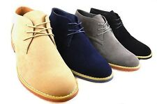 New Fashion Bucks Desert Men Ankle Boots Chukka Casual Comfortable Oxfords