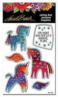 Magical Horses Die Cut Set by Stampendous Cutting Dies for Stamps LBDCS07 NEW!