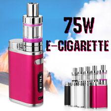 2100mAh 75W Mini LED Electronic Tube High Vape E Pen Cigarettes Vapor Kit