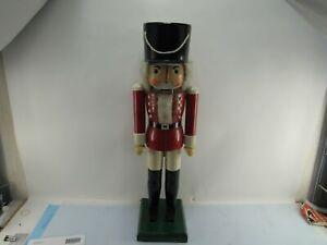 grosser Nussknacker Deko Sammlerstück Erzbebirge 81 cm hoch Holz