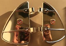 Pair of Cadillac Vintage Automobiles Window Mounting Parts