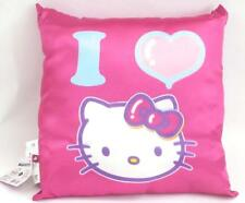 Hello Kitty I Love You Plush Pink Pillow.