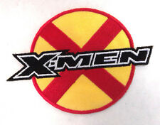 """X-MEN Red and Yellow w Logo  4""""  Embroidered Patch- FREE S&H (XMPA-010)"""