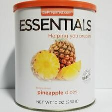 Emergency Essentials Freeze Dried Food Pineapple Dices  #10 Can
