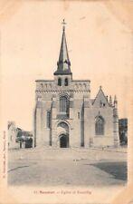 SAUMUR - Eglise de Nantilly