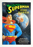 SUPERMAN FOR EARTH #1 (1991) DC Comics Softcover Book