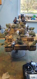 Henglong tiger 1 tank Michael Wittmann 007 1/16  2.4Ghz, Edition 6.0