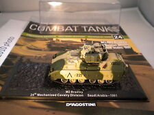 Deagostini Combat Tanks Issue 24 - M2/M3 Bradley 24th Infntry Div USA 1991