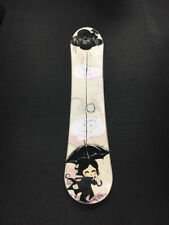 FlyGirls White/Black Ladies 140cm Used Snowboard