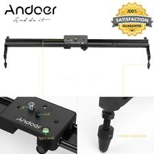 Andoer 80cm DSLR Video Track Slider Dolly Track Rail Stabilizer for Canon Camera