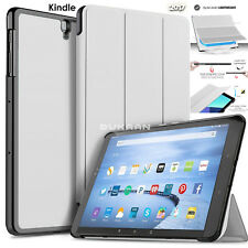 "Flip Leather Smart Stand Case Cover For Amazon Kindle Fire HD 10"" 7th Generation"