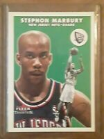Stephon Marbury 2000-01 Fleer Glossy Tradition #40 Basketball Card