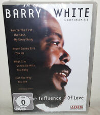 DVD BARRY WHITE & LOVE UNLIMITED - UNDER THE INFLUENCE OF LOVE - NUOVO NEW