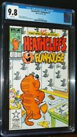 HEATHCLIFF'S FUNHOUSE #1 1987 Marvel Comics CGC 9.8 NM-MINT