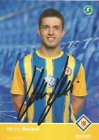 Ken Reichel - Eintracht Braunschweig - Saison 2010/2011 - Autogrammkarte