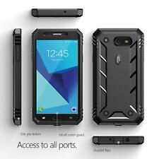 20pcs/lot For Galaxy J7 2017 | [Dust Resistant] Rugged Shockproof Case Cover BK
