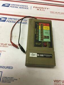Supco M-500 Megohmmeter Insulation Tester