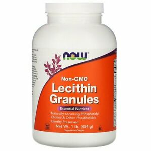 Lecithin Granules Non-GMO - Brain, Spine & Nerve Health Available In 2 Sizes