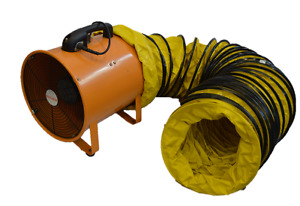 INDUSTRIAL PORTABLE VENTILATOR 300MM WITH DUCTING MASTERFAN