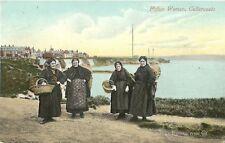 CULLERCOATS FISHER WOMEN 1913 VALENTINE SERIES POSTCARD