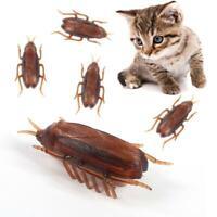 Cat Dog Interactive Electronic Cockroach Intelligence Training Pet Toy Activity