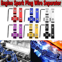 12PCS Engine Spark Plug Wire Separator Divider Clamp Kit For 8mm 9mm     !!A