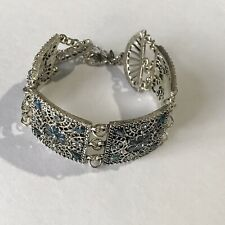Avon Seraphina Feather Bracelet In Silver Gift Boxed