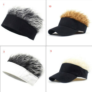 Breathable Soft Wig Hat Outdoor Short Hair Beanie Wig Fun Caps Party Men Women