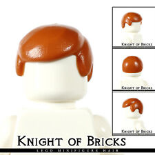 Lego Minifigure Hair DARK ORANGE 3901 Male Boy Cap Wigs Business Wig