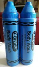 Crayola Color Yourself Clean Body Wash - Bouncin' Blueberry 8 Oz Each - Lot Of 2