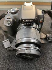 Canon EOS Rebel T6 18MP Digital SLR Camera with EF-S 18-55mm W/ Accessories