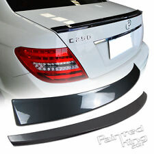 Painted Mercedes Benz W204 DR-Type Trunk Spoiler & W204 OE-Type Roof Spoiler