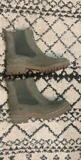 Women TIMBERLAND Boots COURMAYEUR OLIVE LEATHER )  W US size 10