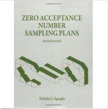 Zero Acceptance Number Sampling Plans by Nicholas L. Squeglia (2008) PDF Version